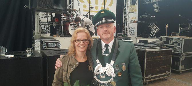 Unser neues Kaiserpaar Oliver Leine und Elke Stupperich
