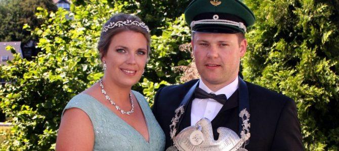 Königspaar  Stefan und Karina Leine